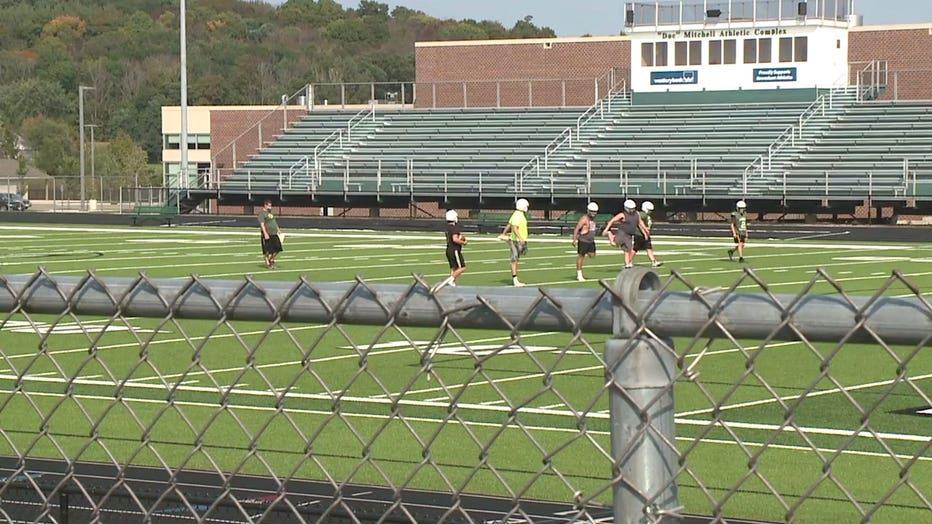 Kewaskum High School football field