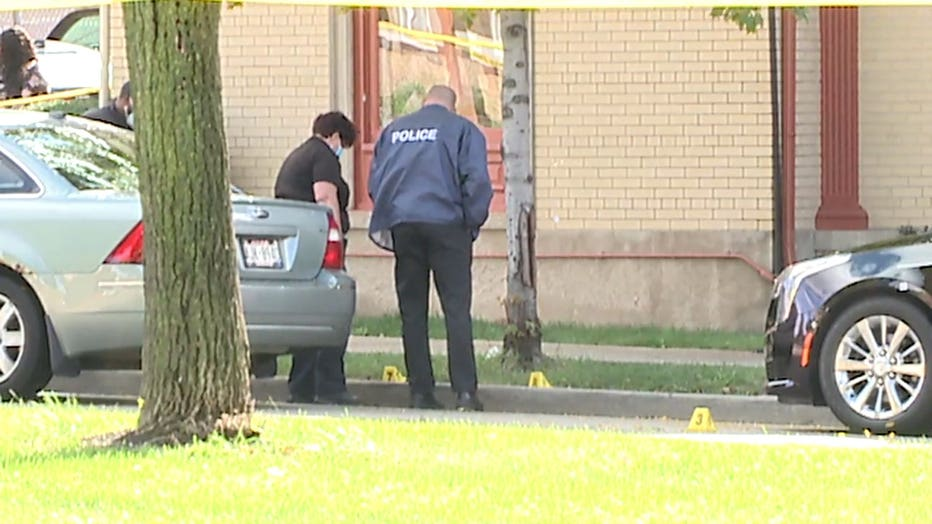 Shooting at funeral home near Fond du Lac and Townsend