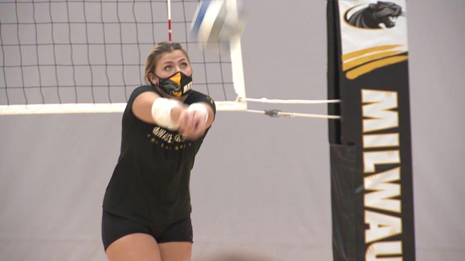 UWM volleyball