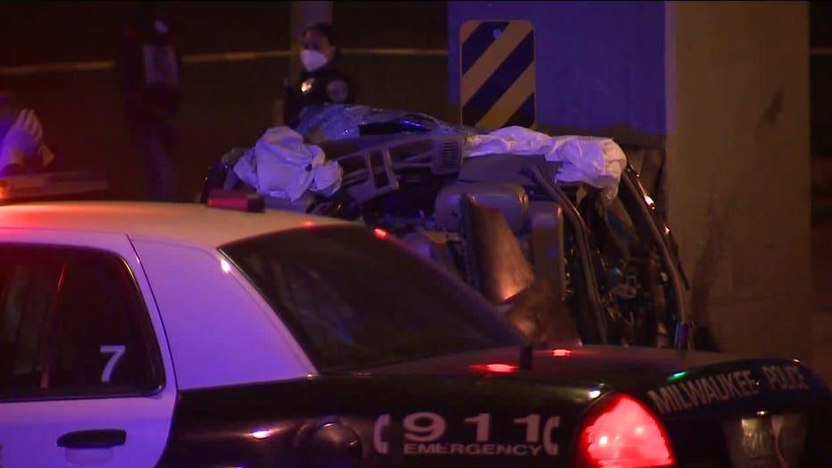 Fatal crash at Fond du Lac and Locust, Milwaukee