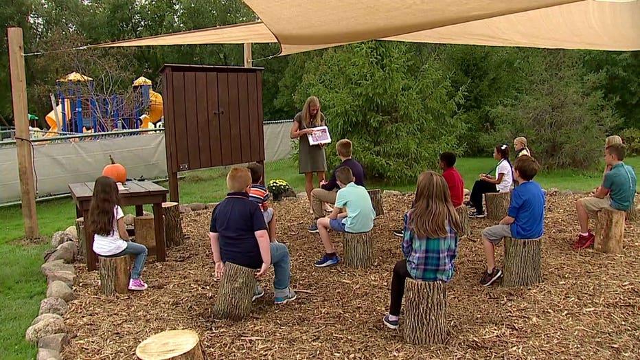 Jonas Siebert's outdoor classroom