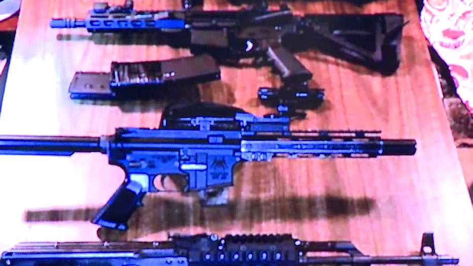 Weapons confiscated as part of Operation Legend