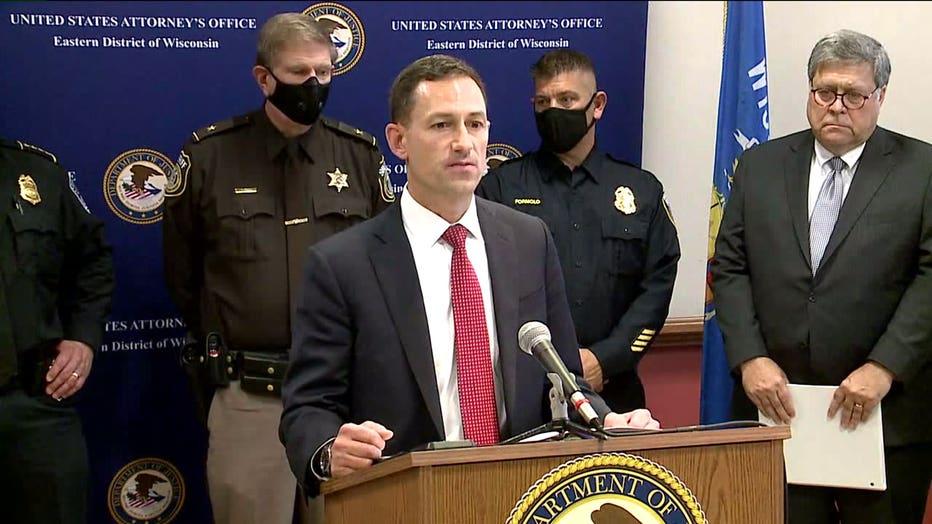 Matthew Krueger, U.S. Attorney for the Eastern District of Wisconsin