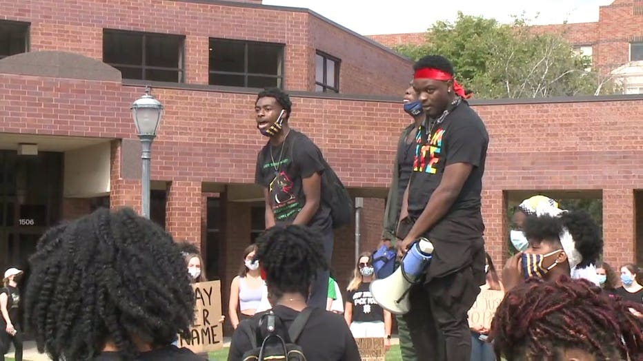 MU's Black Student Council leads march after Breonna Taylor decision
