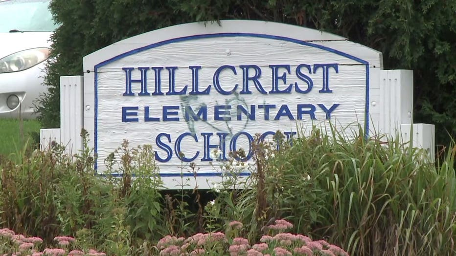 Hillcrest Elementary School in Waukesha