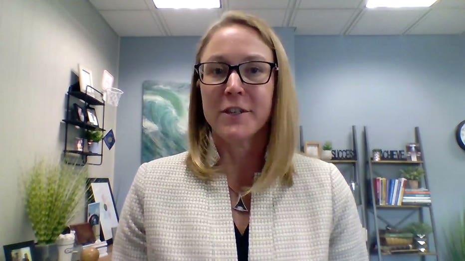 Annelee Bennin, Superintendent of School District of Sheboygan Falls