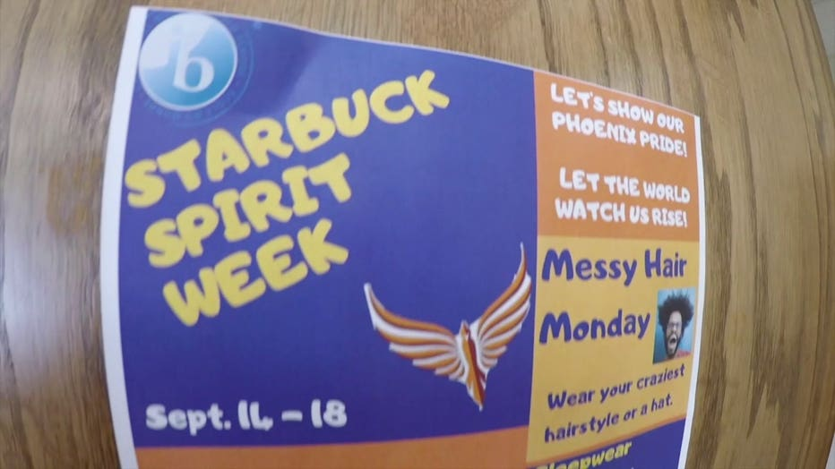 Spirit Week at Starbuck Middle School, Racine