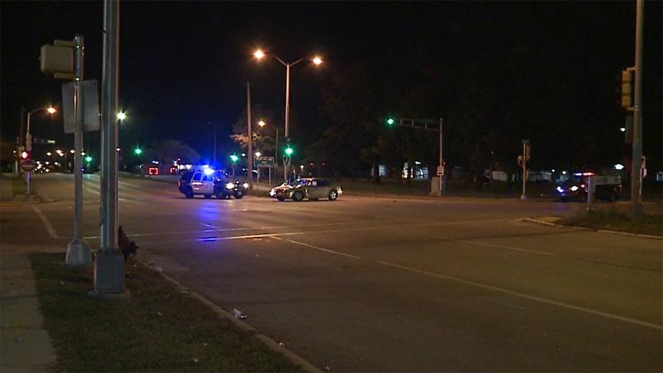 Collision at 76th and Villard, Milwaukee