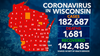 DHS: 4,205 new COVID-19 cases; deaths up record 48 in Wisconsin