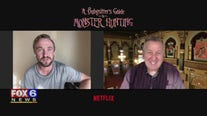 Gino talks with actors from'A Babysitter's Guide to Monster Hunting'
