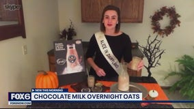 Change up your overnight oats routine with chocolate milk