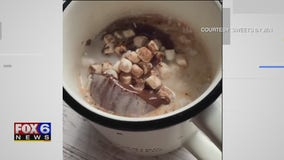 Hot chocolate bomb by Sweets By Jen in Green Bay goes viral