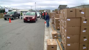 Church's food drive-thru helps hundreds in Fond du Lac
