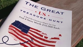 The Great US Treasure Hunt features four prizes