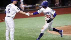 LA stars shine, Dodgers top Rays 8-3 in WS opener