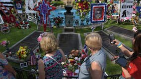Elvis Presley's late grandson laid to rest at Graceland