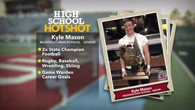 Muskego football player chasing 3rd state championship