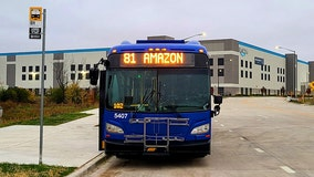New MCTS bus route to Amazon fulfillment center in Oak Creek