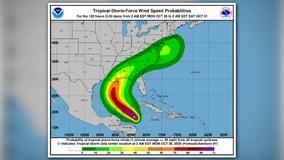 Hurricane Zeta: Wind, rain lash Mexico coast as storm nears