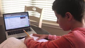 'Not as good as in-person:' Day in the life of a virtual teacher