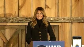 First lady delivers remarks in West Bend as election nears
