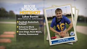 Pulaski High School's Lukas Barnes is a 3-sport athlete