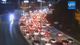 Crash snarls traffic on I-94 at 35th Street Wednesday morning