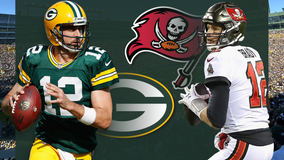 Battle of the Bays: Bucs beat Packers 38-10, Rodgers throws 2 INTs