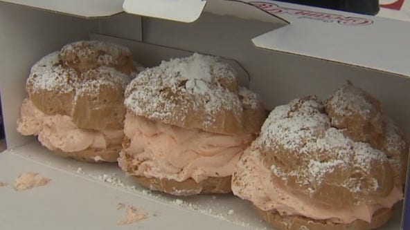 Pumpkin Spice Cream Puffs at State Fair Park