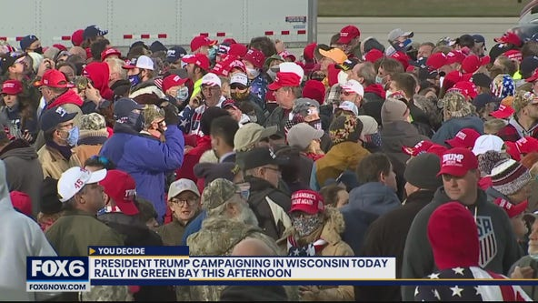 President Trump to campaign in Green Bay
