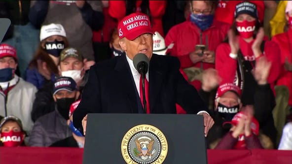 President Trump to campaign in Wisconsin twice in 4 days