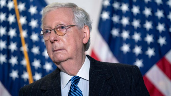 McConnell: GOP has '50-50' chance of losing Senate majority