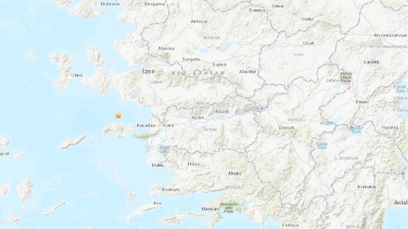 Large quake hits off the coast near Greece and Turkey