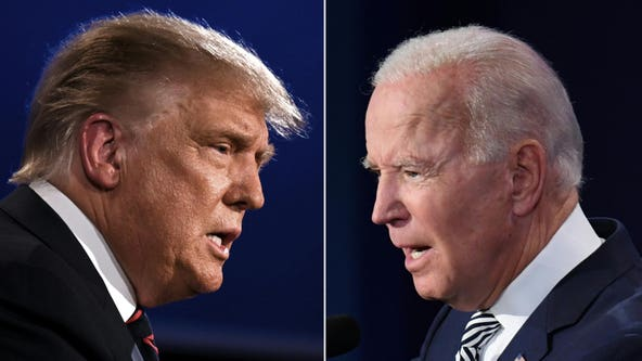 In lieu of debate, President Trump, Biden hold town halls