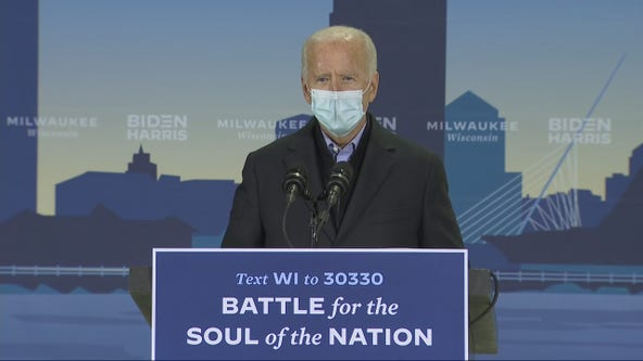 Joe Biden meets with Wisconsin Democrats in Milwaukee