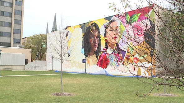 New mural going up at Marquette University promotes inclusivity