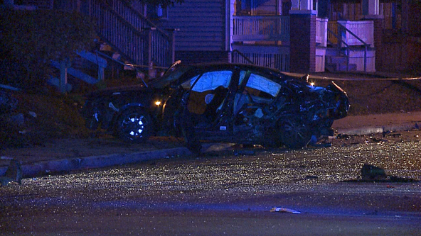 2 dead, 1 in critical condition following crash in Milwaukee