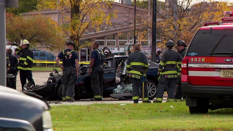 Crash near 76th and Appleton, Milwaukee