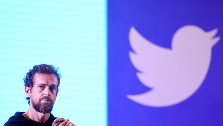 FILE - Twitter CEO and Co Founder, Jack Dorsey addresses students at the Indian Institute of Technology (IIT), on November 12, 2018 in New Delhi, India.