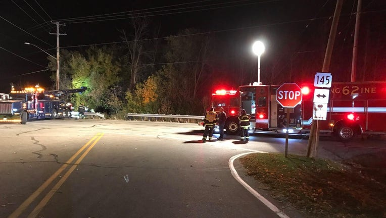 Crash near Highway 145 and County Road Y in Germantown