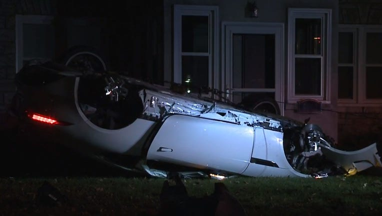 Hit-and-run crash near 68th and Fond du Lac in Milwaukee