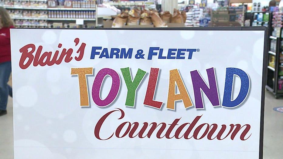 Toyland at Blain's Farm & Fleet