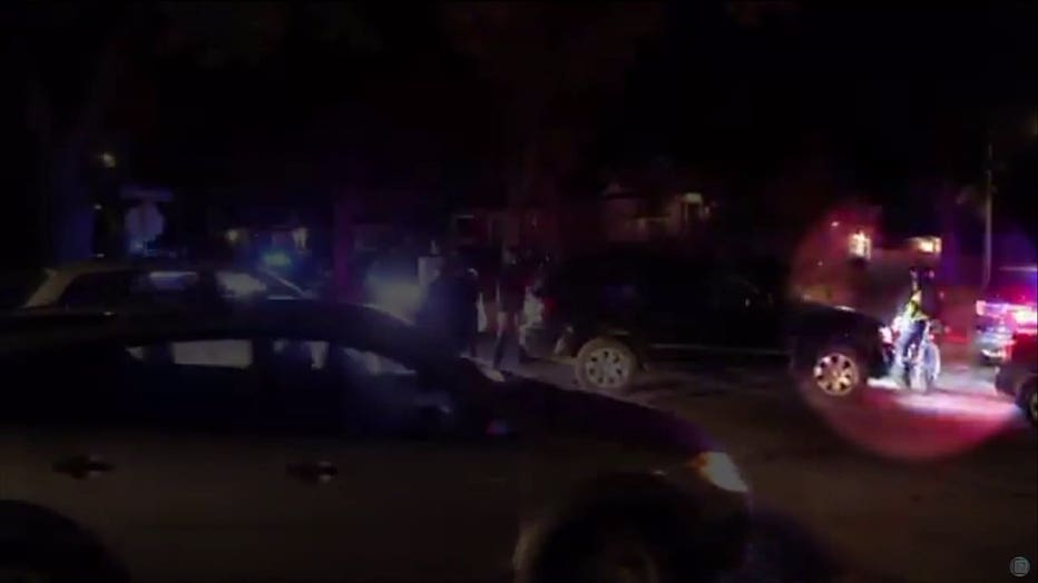 Protesters clash with Wauwatosa police