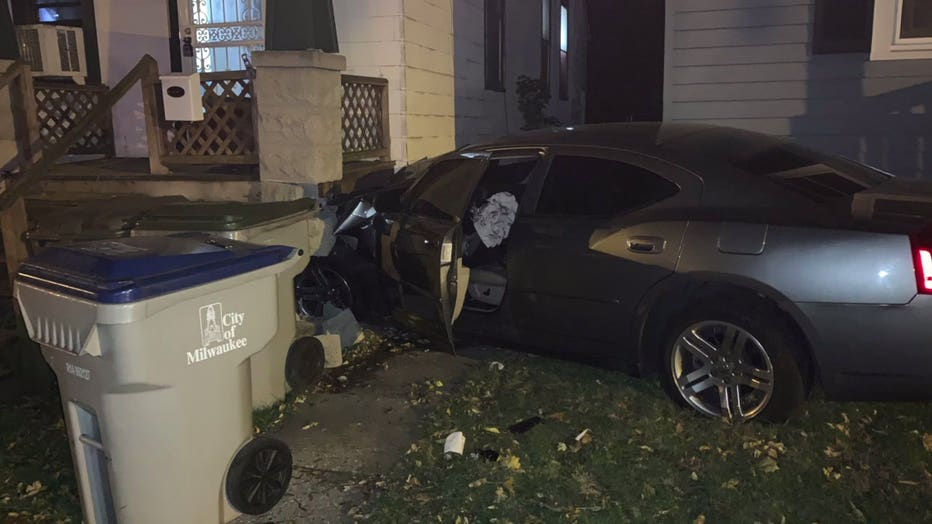 Hit-and-run driver slammed into home near 19th and Grant