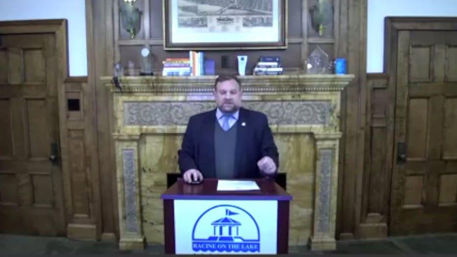 Racine Mayor Cory Mason