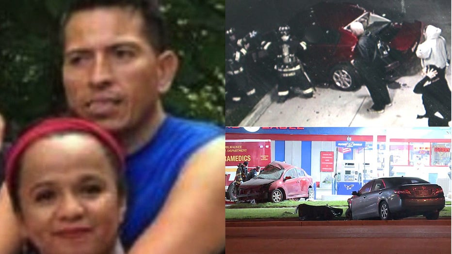 Luis and Teresita Contreras, killed in a crash near 27th and Edgerton in Milwaukee