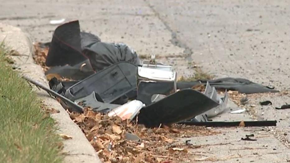 Crash near 35th and Vienna