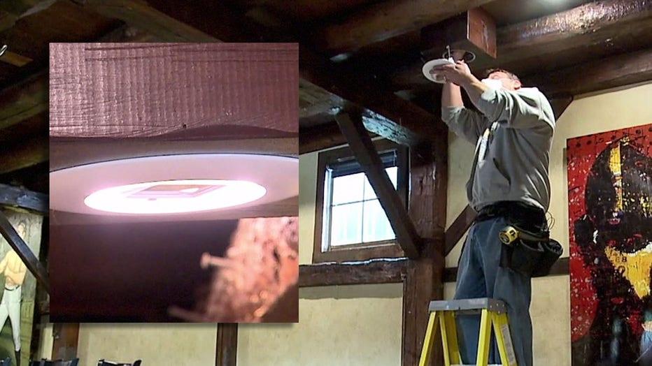 Far UVC lights installed at The Blind Horse in Kohler
