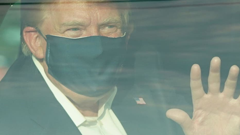 President Donald Trump said he will be released from the the military hospital where he is being treated for COVID-19 on Monday evening.