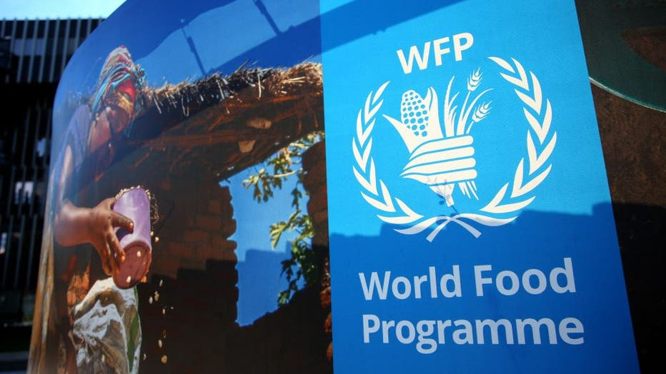 United Nations World Food Programme Headquarter In Rome